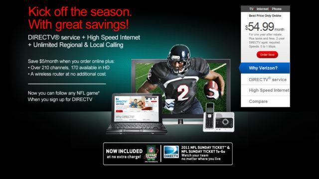 Verizon Web Design