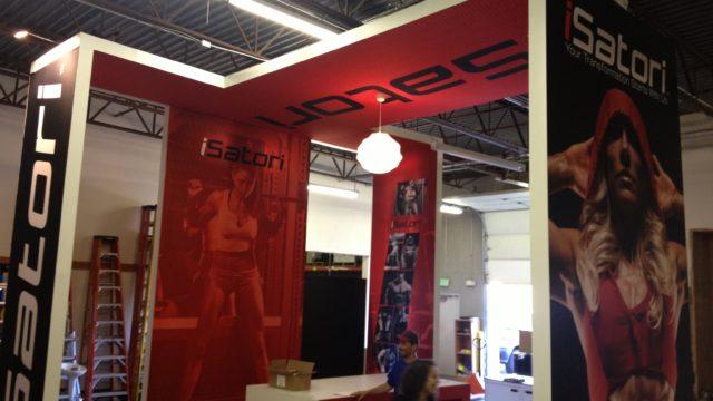 iSatori Trade Show Booth Design